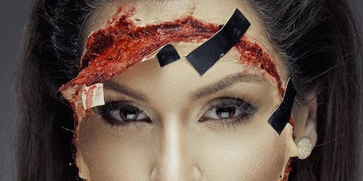 Sip & Slay into Halloween with Special Effects Unisex Class (Followed By A Halloween Party)