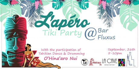 L'Apero Tiki Party @Bar Fluxus tickets