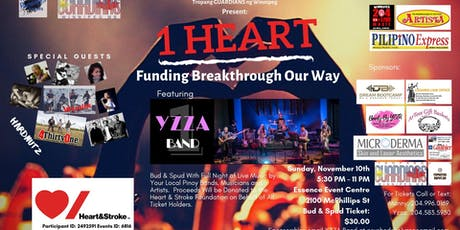1 HEART - Funding Breakthrough Our Way tickets