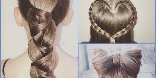 Beginners hair braiding workshop