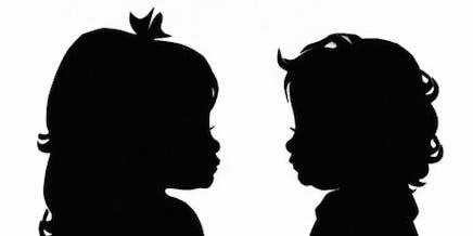 Growing Up- Hosting Silhouette Artist, Erik Johnson - $30 Silhouettes