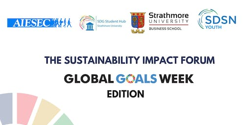 Sustainability Impact Forum : Global Goals Week Edition