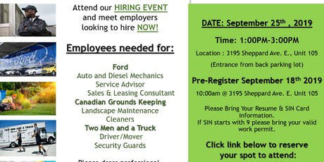 Springboard Hiring Event tickets