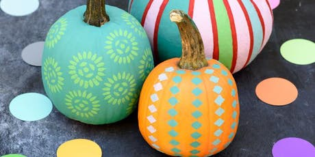 Pumpkin paint and carve tickets