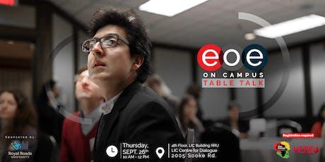 EOE on Campus: Table Talk tickets