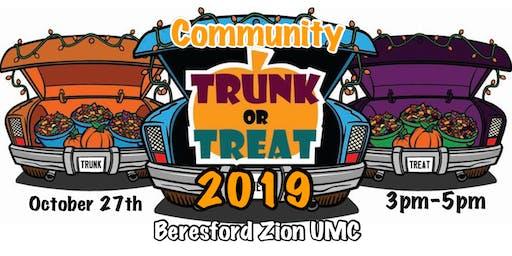 Community Trunk-or-Treat 2019