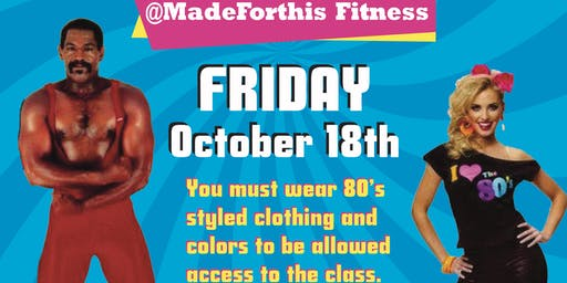 MadeForThis Fitness 80's Style Workout