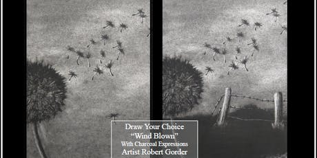 "Charcoal Drawing Event ""Windblown"" in La Farge tickets"