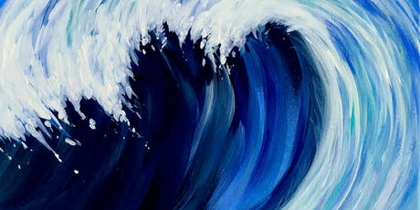 New Date! Catch the Wave - Acrylic Painting Class - Mount Ulla tickets