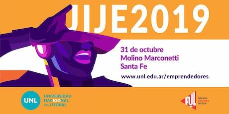 Jornada Internacional de Jóvenes Emprendedores - UNL entradas
