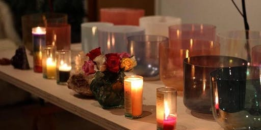 Sacred Light Sound Bath Meditation by Arlene with an illumination  of Reiki and ARK Crystal Healing by Avery Richardson
