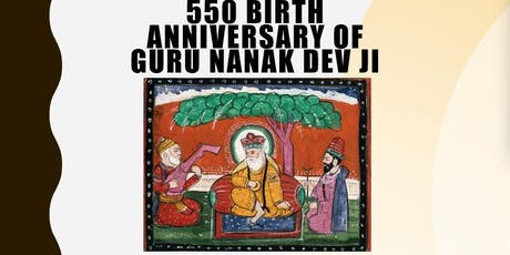 550th Birth Anniversary of Guru Nanak tickets