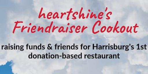 heartshine's friendraiser cookout