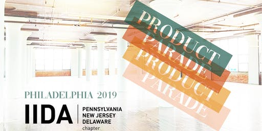 2019 Product Parade Exhibitor Registration