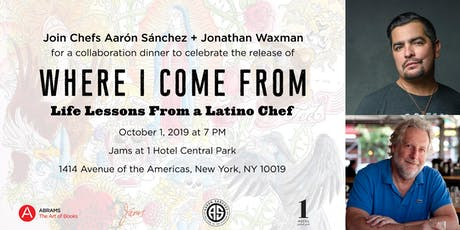 Where I Come From Book Release Dinner tickets