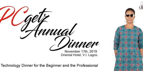 Pcgetz Annual Dinner 2019 tickets