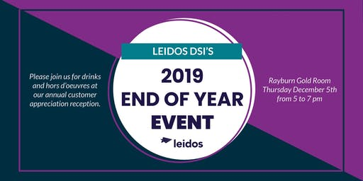 Leidos DSI's 2019 Year End Event