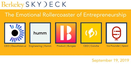 The Emotional Rollercoaster of Entrepreneurship tickets