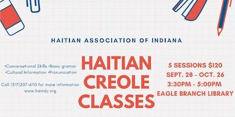 Haitian Association of Indiana - Creole Class tickets