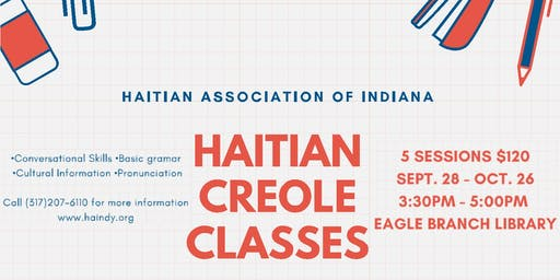 Haitian Association of Indiana - Creole Class