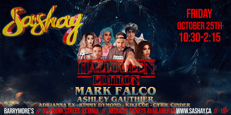 SASHAY Halloween Edition feat. Mark Falco (TO) tickets