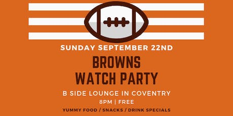 Browns Watch Party + Service Industry Sundays tickets