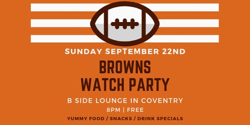 Browns Watch Party + Service Industry Sundays