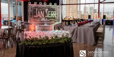 Saz's Holiday Party Venue Tour - Jan Serr Studio