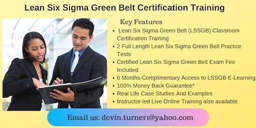 LSSGB Certification Course in Nashville, TN