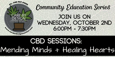 Care By Design Community Education Series - Mending Minds + Healing Hearts tickets