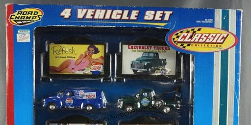 Die-Cast Cars and Nascar Collection ONLINE Auction Sep 23rd