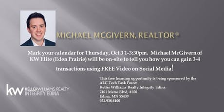 Mike McGivern: How to Gain 3-4 Transactions using FREE Video & Social Media tickets