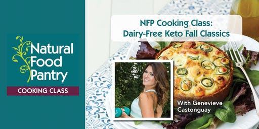 NFP Cooking Class: Dairy-Free Keto Fall Classics
