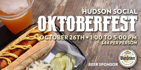 Oktoberfest at Hudson Social tickets