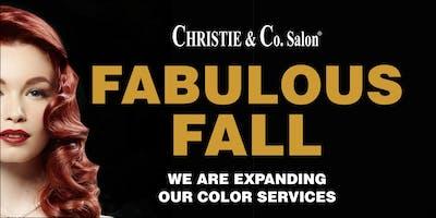 Fabulous Fall - Hair Color on Demand