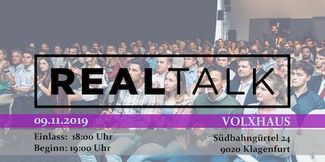 RealTalk Klagenfurt - Ein Event, das verändert Tickets