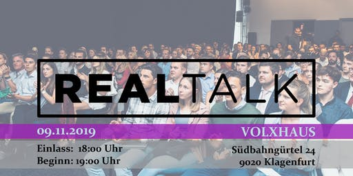 RealTalk Klagenfurt - Ein Event, das verändert