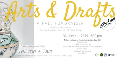Arts & Drafts 2019	 A Fall Fundraiser for the Allied Arts Council of PC tickets
