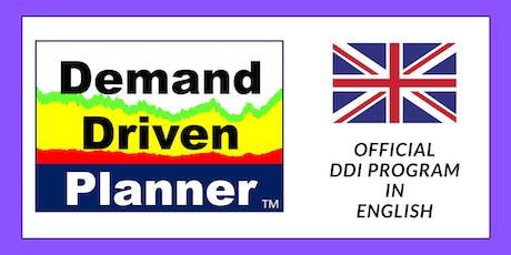 Demand Driven Logistics Planning - Official DDP Program (English Version) tickets