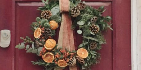Fresh Christmas Door Wreaths tickets