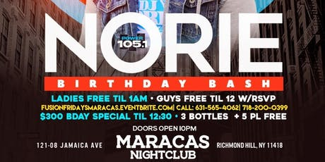 Dj Noire Birthday Bash at Maracas Nightclub  tickets