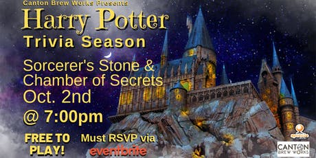 A season of Harry Potter trivia @ Canton Brew Works! Week One tickets