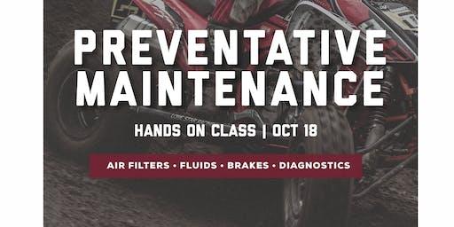 Preventative Maintenance Class