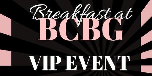Breakfast at BCBG