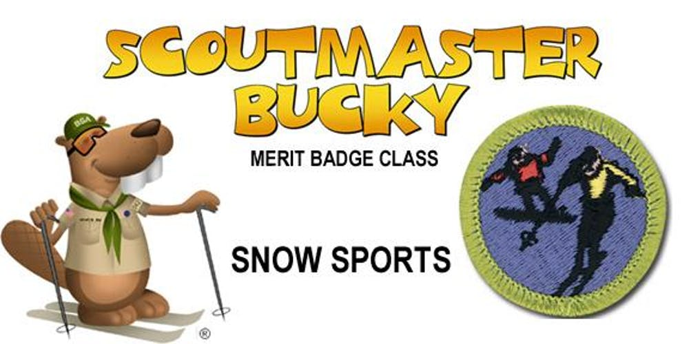 Snow Sports Merit Badge - 2020-02-15 - Saturday 3/4 Day - Scouts BSA
