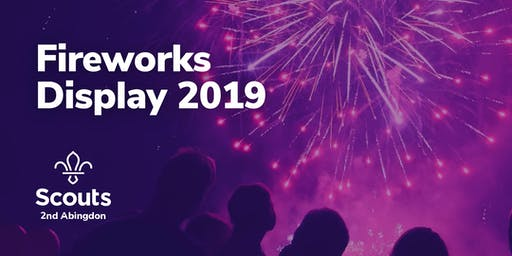 2nd Abingdon Scout Group Fireworks Display 2019