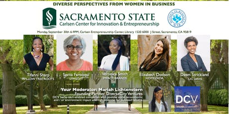 Sac State Women In Business - Entrepreneurship Panel tickets
