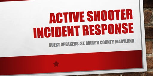 Active Shooter Incident Response Forum