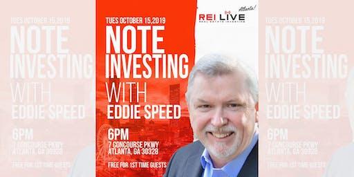 Add Seller Financing to your REI Business - REI Live! Atlanta w Eddie Speed