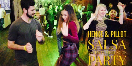 Salsa and Bachata Mixer @ Henke & Pillot Downtown! 10/11 tickets